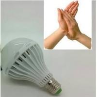 Lampu Bohlam LED Tepuk / Sensor Suara 15 Watt / 15W Putih