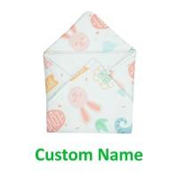 LittleFresco - Selimut Topi Bayi Anak Custom Nama