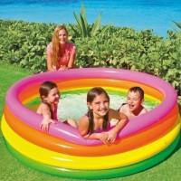 INTEX Swimming Pool Rainbow - Kolam Renang Anak Pelangi