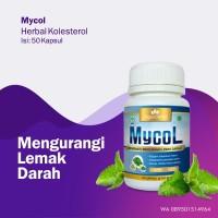 Obat Menurunkan Lemak Darah MYCOL Herbal BPOM