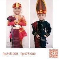 Baju Adat Anak Batak Toba