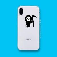 Tokomonster Decal Sticker Apple iPhone - Grim Reaper - 4 Buah