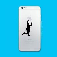 Tokomonster Decal Sticker Apple iPhone - Basketball - 4 Buah