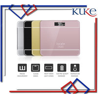 KUKE KLS-12 Timbangan Badan Digital Indikator Iscale SE Kaca Scale