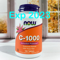 Now Foods Vitamin C-1000 isi 100 Tablets