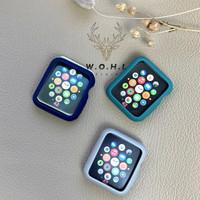 Rubber Case Apple Watch iWatch IWO Series 2 3 4 5 42mm 44mm 38mm 40mm