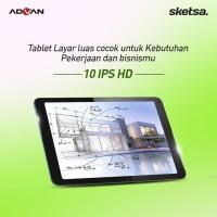 Advan Tab Sketsa 10 Inch 4GB/32GB Garansi Resmi - Tablet Only