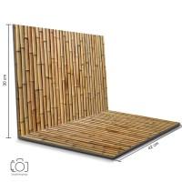 Alas Foto Lipat Bambu 42 x 30 cm / Background Photo Bamboo (GDL-06)