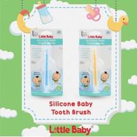 LITTLEBABY SILICONE BABY TOOTHBRUSH BEAR/ SIKAT GIGI BAYI