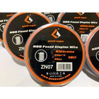 Geekvapee kawat coil wire Fused Clapton Ni80 Nichrome 26ga*3+36ga ori - zn07