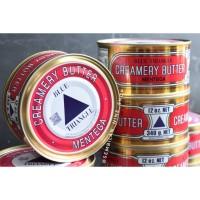 BLUE TRIANGLE Creamery BUTTER 340 Gram Mentega SEGITIGA Asin Salted