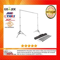 TaffSTUDIO Bracket Stand 3M untuk Backdrop Foto Studio - BS-300