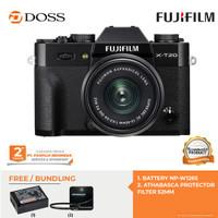 Fujifilm X-T20 Kit 15-45mm / Fujifilm X-T20 / Fuji XT20 - Hitam