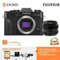 FUJIFILM X-T30 Body Only + XF 35mm f/1.4 / Fujifilm XT30 - Hitam