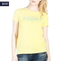 Kaos Lengan Pendek Wanita / Today Yellow Tee 12062P4YL - 10PM