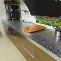 Waterproof Wallpaper Sticker Anti Minyak Utk Meja Dinding Dapur 1 Roll