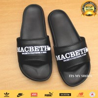Sandal Slop Pria Macbeth-Import-Hitam