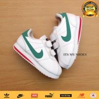 Sepatu Anak Balita Cortez-Perekat-Putih Hijau