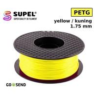 SUPEL Filament Filamen Tinta Printer 3D PETG 1.75 mm Yellow | Kuning