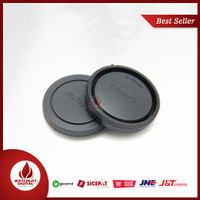 Penutup Body Lensa Sony DSLR NEX-A7 A7M2 A7S A7R a5000 a6000 With Logo