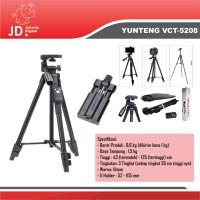 Yunteng VCT-5288 Tripod Bluetooth Smartphone HP Camera Digital Go Pro