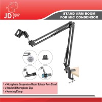Stand ARM For Microphone BOYA-RODE-DLL