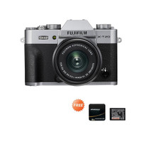 Fujifilm X-T20 Kit 15-45 Free filter UV 52mm, Extra Battery - Perak