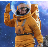 Stan Lee Astronaut GOTG Vol 2 Exclusive Action Figure Hot Toys
