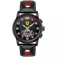 Scuderia Ferrari 0830059 – Wristwatch Mens Rubber Strap – Black
