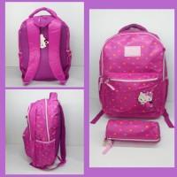 Tas Hello Kitty Pink / Tas Sekolah / Tas Anak / Tas Ransel 19007