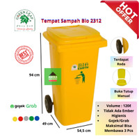 GREEN LEAF - DUST BIN / TEMPAT SAMPAH BIO 120 LITER 2312