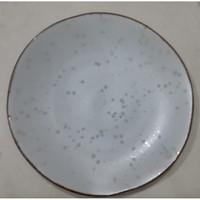 Dinner plate Motif Ring of Fire - D.27.5cm| Ekspor Murah