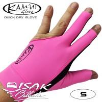 Kamui Glove Pink S - Left Hand Small Sarung Tangan Pool Billiard Asli
