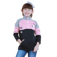 Jaket Sweater BLACK PINK anak perempuan Sweater distro terbaru TDLR