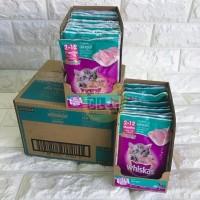 Makanan kucing Whiskas Junior Tuna Pouch 85 gr