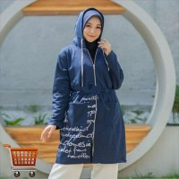 Outer Milenial Big Size Hoodie Outer Jaket Jumbo
