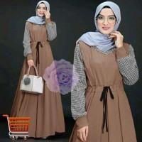 Dress Nash Busui Gamis Maxi Dress Muslim