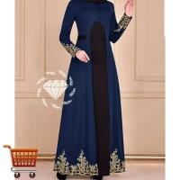 Dress Durga Big Size Gamis Maxi Dress Muslim Jumbo