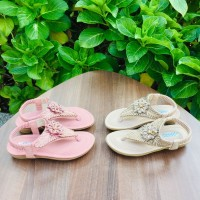 Sandal Anak Import / Model Blink-Blink / teplek / fashion
