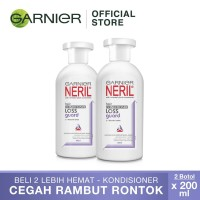 Garnier Neril Hair Care Conditioner Anti Loss Guard - 200ml Twin Pack