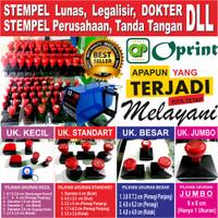 Stempel Warna Otomatis Kilat 15 Menit Stempel Flash Cap Murah - KECIL, 1 WARNA