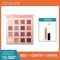 FOCALLURE 16 colors Sunrise Glitter Eyeshadow palette Matte FA88