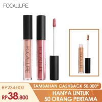 FOCALLURE Bundle 3pcs Best Selling Lipstik Matte Glitter FA24 - Bundle 1