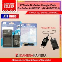 ATTitude DL-Series Charger Pack For GoPro AHDBT-501 (DL-AHDBT501)