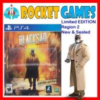 PS4 Black Sad / Blacksad Under The Skin Limited Edition Reg 2 english