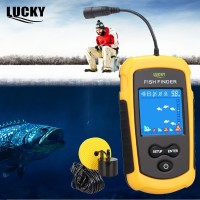 Fish Finder Berwarna Lucky Color Pencari Ikan FFC1108 Sonar Locator