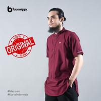 Kurta Indonesia Terbaru Bunayya   Baju koko   Baju Kurta - Maroon, M