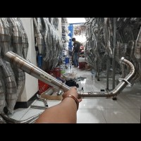 Leher knalpot yanaha mx new 135 underbone ub