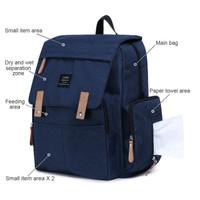 Millennio Landuo Diapers Bag Original - Diaper Bag Tas Travel Bayi