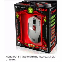 Mediatech Macro Gaming Mouse Zion ZM2 - 8D